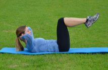 Reverse Crunch Abdominal Exercise