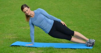 Side Crunch Abdominal Exercise
