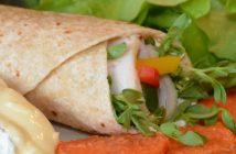Chicken & Camembert Sourdough Wrap