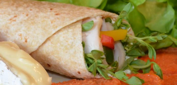 Chicken & Camembert Sourdough Wrap