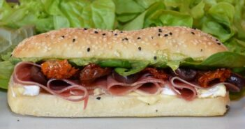 Mediterranean Prosciutto And Camembert Turkish Roll