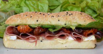 Mediterranean Prosciutto And Camembert Turkish Roll